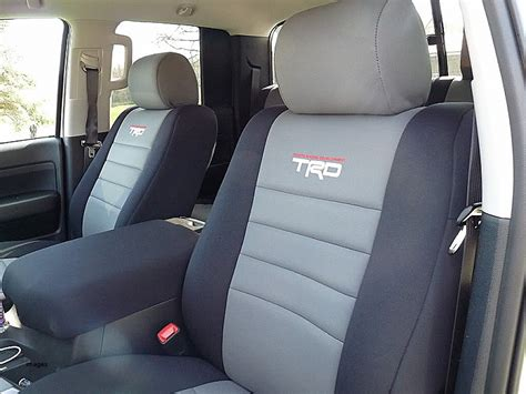 2017 toyota tacoma leather seat covers 2017 tundra trd pro leather seats brokeasshome