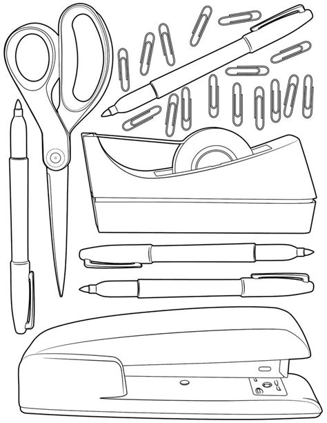 school stationery coloring pages the spinsterhood diaries sunday coloring page office