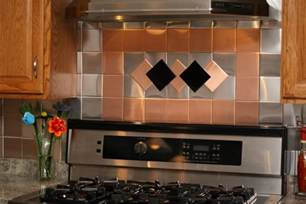 Self Stick Kitchen Backsplash by 24 Decorative Self Adhesive Kitchen Metal Wall Tiles 3 Sq