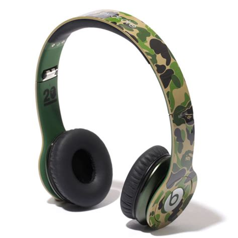 Beats By Dre Detox Headphones Release Date by Beats By Dr Dre X Bape 20th Anniversary Limited Edition
