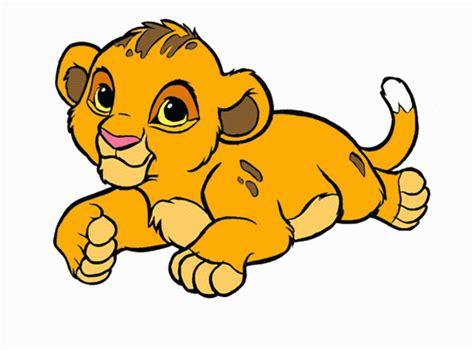 imagenes de leones bebes animados el rey leon para imprimir