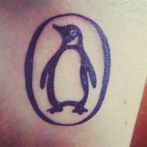 penguin tattoo penguin contrariwise literary tattoos