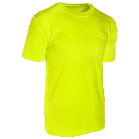 t shirt ml kishigo 9124 microfiber short sleeve t shirt yellow