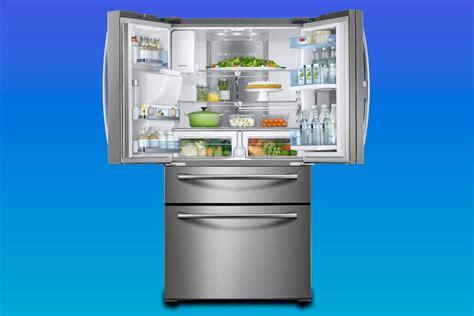samsung rf28jbedbsg 4 door door refrigerator review reviewed refrigerators