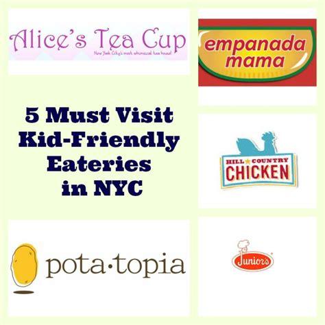 friendly restaurants nyc 5 kid friendly restaurants in new york city