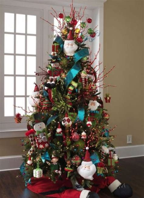 christmas tree decorated with snowmen 50 tree decorating ideas ultimate home ideas