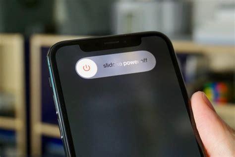 como reiniciar ou desligar o iphone xs iphone xs max e iphone xr imagazine
