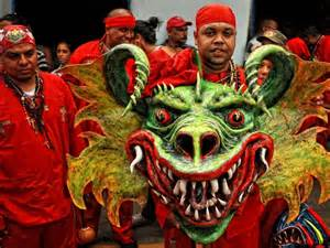 venezuela s dancing devils receive country s first