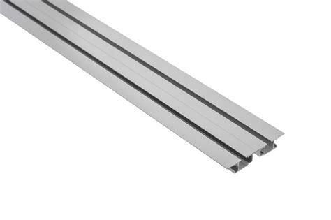 gardinenschiene zweilaufig alu vorhangschiene aluminium tara 2 l 228 ufig m10040