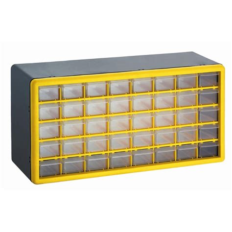 parts storage drawers nz craftright storage box with 40 plastic drawers bunnings