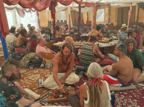 burning man orgy tent doing it right theme c management insights from c