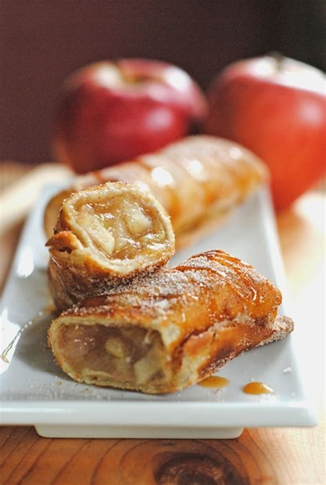 apple cinnamon dessert chimichangas recipe chefthisup