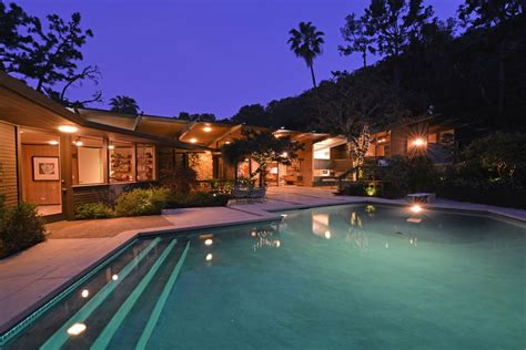 pristine mid century architectural home beverly hills ca