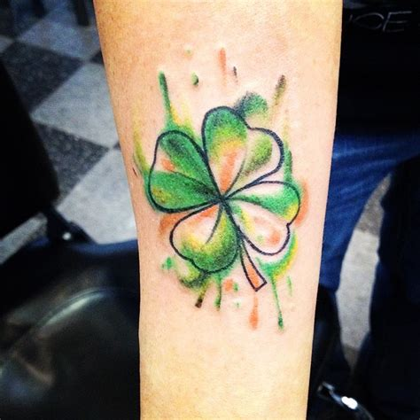 75 colorful shamrock tattoo designs traditional symbol