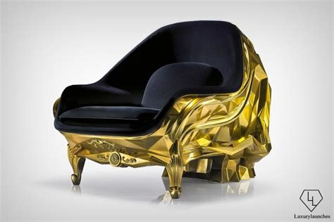 skull armchair this 500k 24 carat gold skull armchair is perfect for