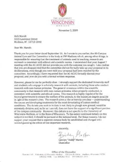 College Of Wisconsin Letter Of Recommendation Writing A Cover Letter Uw Covering Letter Exle