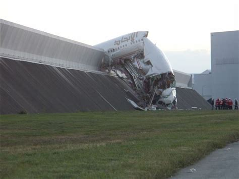 etihad airbus crashes into wall during testing airline world 301 moved permanently