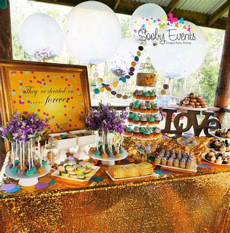 themes engagement party engagement party theme confetti and glitter ideas