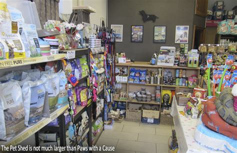 shop talk paws with a cause and the pet shed brighton