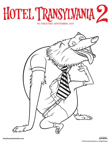 halloween coloring pages hotel transylvania unearth your inner artist with these hotel transylvania 2