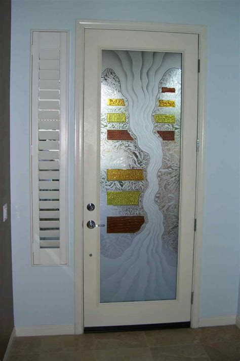 Decorative Painting Ideas by Painted Glass Door Designs Pilotproject Org