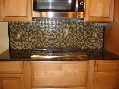 Backsplash Ideas For Kitchens Inexpensive Glass Mossaic Kitchen Backsplash Front Stove View New