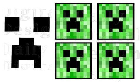 minecraft creeper faces printable