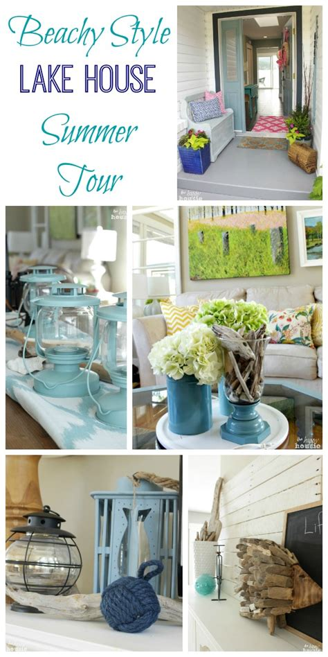 Lake Cottage Decor by Lake Cottage Late Summer Beachy Decor House Tour