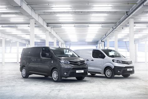 toyota proace 2016 toyota proace van is ready to get the job done