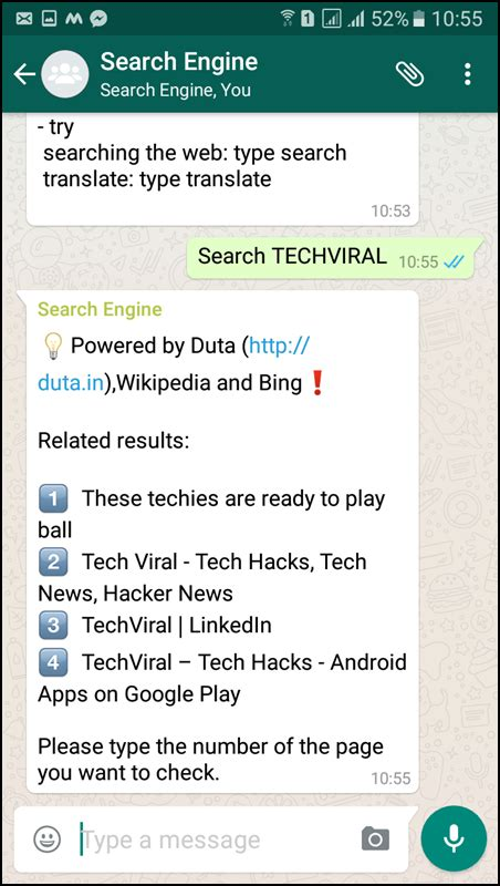 Search For On Whatsapp Here S How You Can Use Whatsapp As A Search Engine Files Fort
