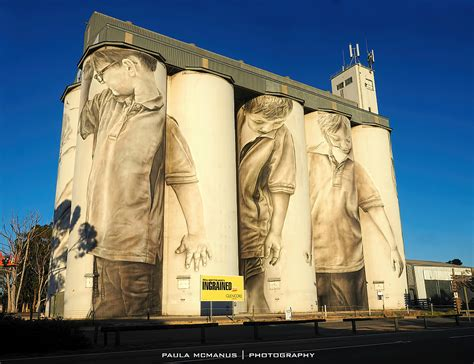 Mural For Walls south australia s first silo mural adelaide