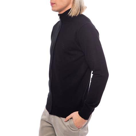 Zipper Sweater Wolverhamton Black Front Logo zip logo sweater jacket black 50 billionaire touch of modern