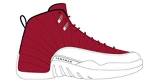 Drawing Jordans by Air 12 White Black Release Date Sneaker Bar