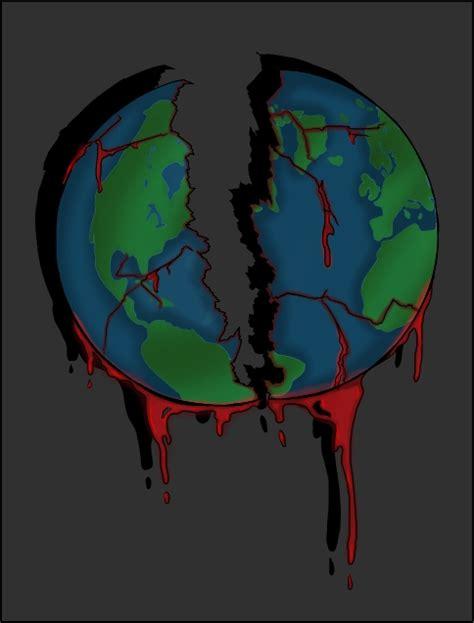 our broken world by kamanari on