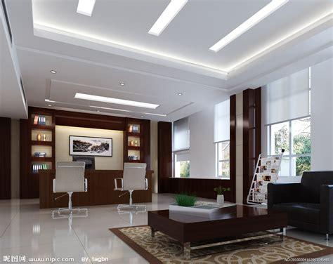办公室背景墙设计 有其独特的一套参考方法 从不同的角度出发来进行办公室背景墙 飞虎图片分享