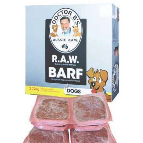 barf food dr b barf food beef 2 7kg 12 x 227g enfield produce
