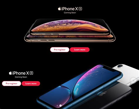you now register your interest for the new iphone xs xs max and xr with singtel