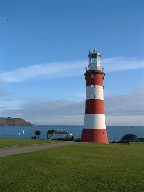 the hoe plymouth lighthouse smeaton s tower