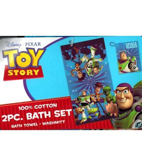 Celengan Story 7 Pcsset story 2 pc bath set disney pixar bath towel wash mitt buy story 2 pc bath set disney