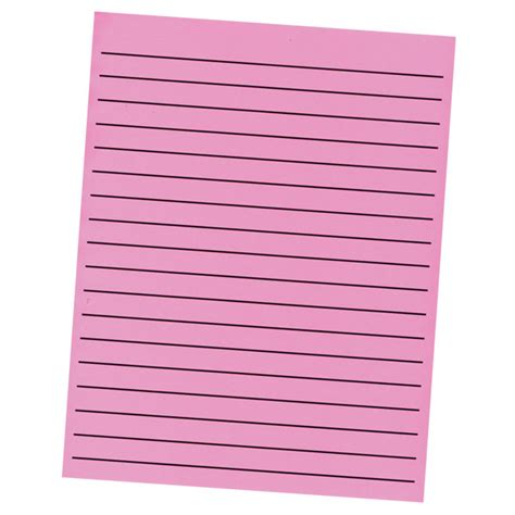 thick writing paper maxiaids thick line paper pad in neon pink with black