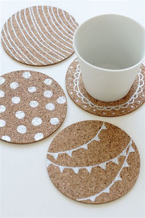 homemade coasters how to make your own coasters 29 diy wonderful designs