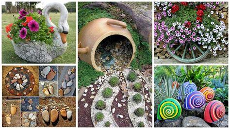 decorare giardino fai da te decorazioni giardino e tante idee creative fai da te per