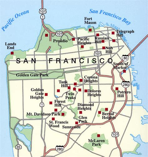 san francisco map nob hill photography by dennis l maness stairway walks table of