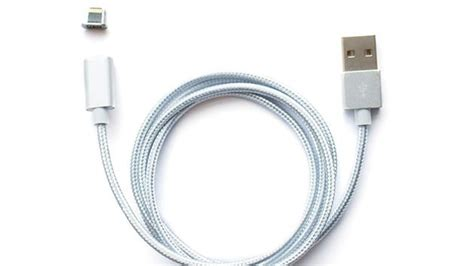 Iphone F Cable Magnetic Charging Cable For Your Iphone That Works Just Like Magsafe