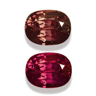 garnet colors color change garnet gemstone information at ajs gems