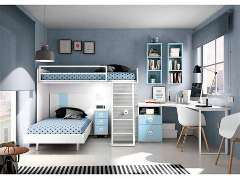 habitacion dormitorio dormitorio juvenil cielo blanco