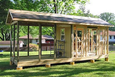 Garden Shed With Porch by Big Constructio Garden Shed Screened Porch
