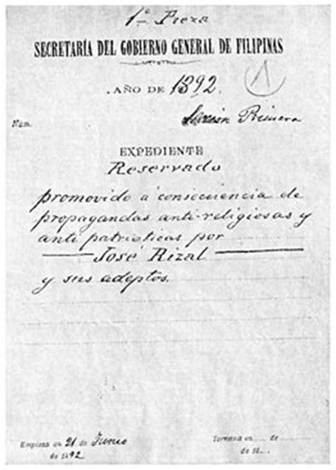 appreciation letter for jose rizal lineage and labors of jos 233 rizal philippine patriot