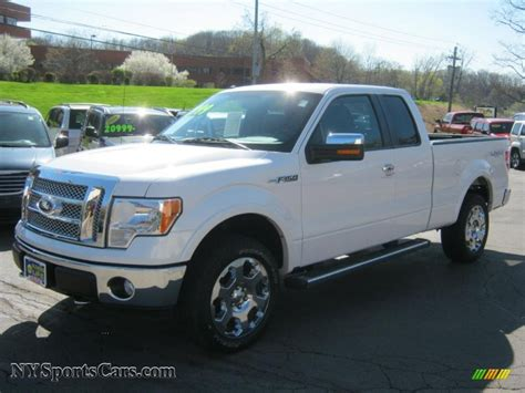 2010 ford f150 for sale 2010 ford f150 lariat supercab 4x4 in white platinum