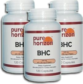 Bhc Detox by Bhc By Horizon 120 Capsules 3 Bottles